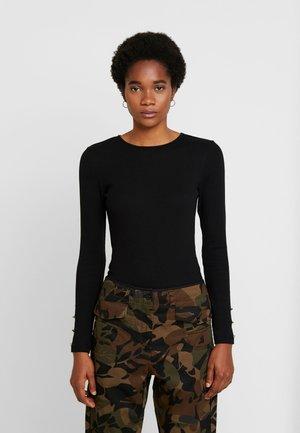 BASIC BODYSUIT - Langærmede T-shirts - black