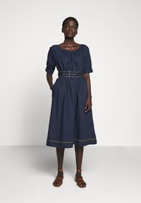 J.CREW - GWEN DRESS - Day dress - navy - 0
