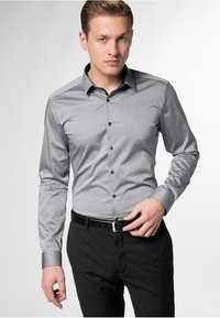 Eterna - EXTRA SLIM FIT  - Formal shirt - grey - 0