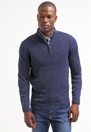 Jersey de punto - blue melange