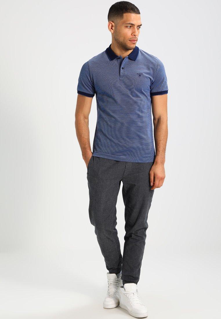 GANT OXFORD RUGGER - Polo - persian blue