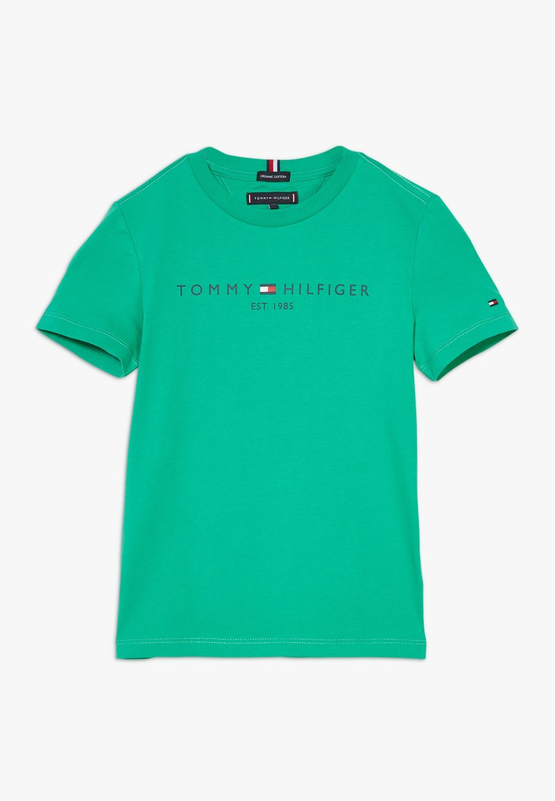 Tommy Hilfiger - ESSENTIAL LOGO UNISEX - Print T-shirt - green