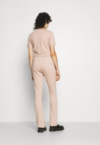 adidas Originals - OPEN HEM  - Tracksuit bottoms - beige - 3