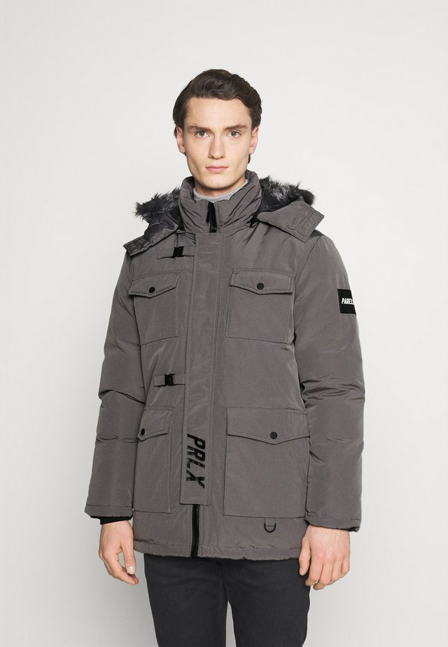 GALACTIC TECH JACKET - Talvitakki - dark grey