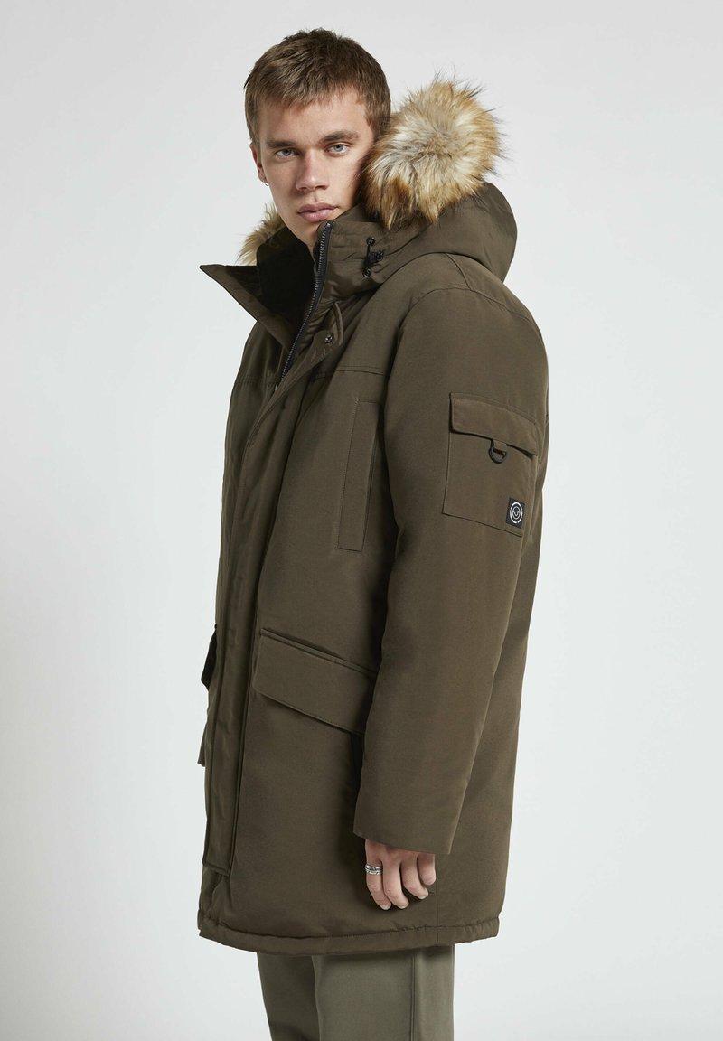 PULL&BEAR - Winter coat - khaki