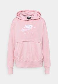 pink glaze/white