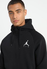 Jordan - Mikina na zip - black/white - 5