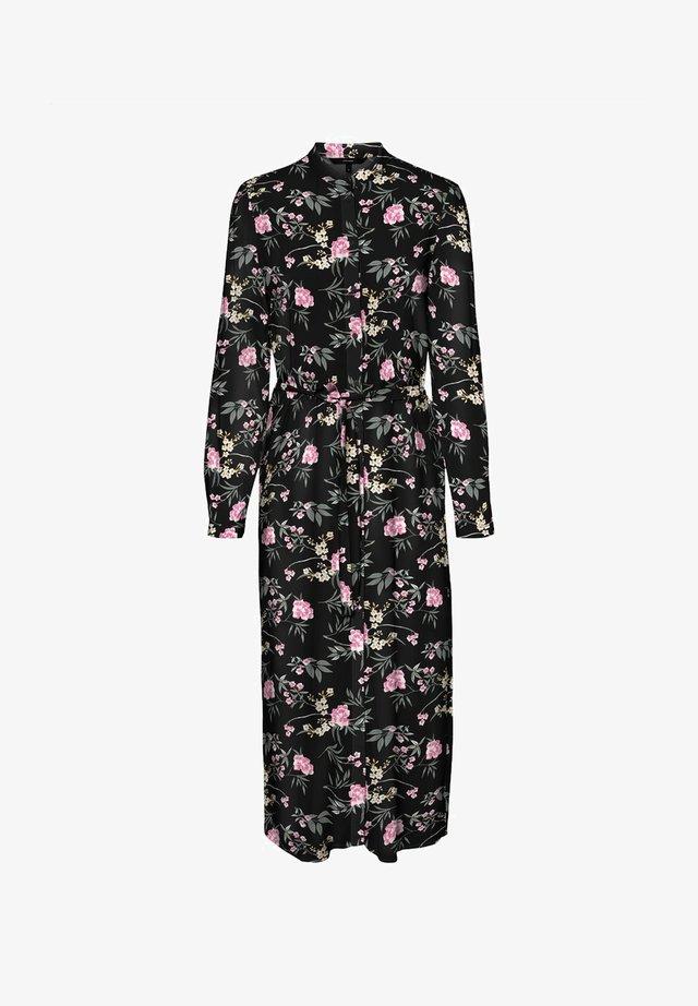 VMSIMPLY EASY LONG DRESS - Skjortekjole - black
