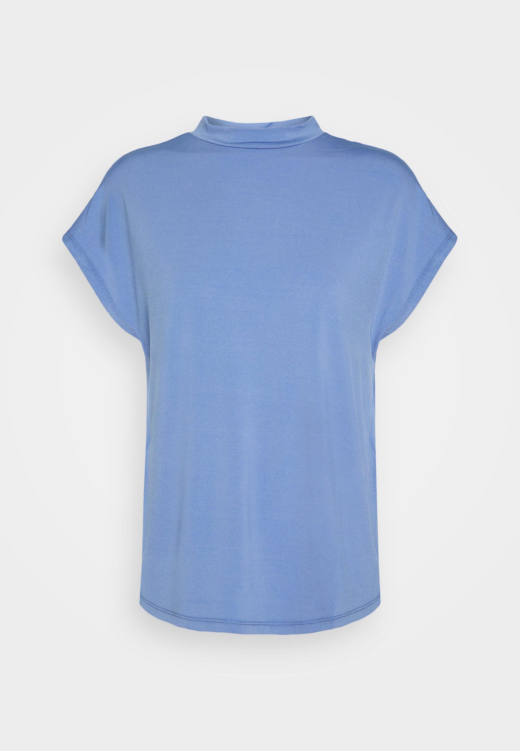 Damen VICATHRINE FUNNEL NECK - T-Shirt basic