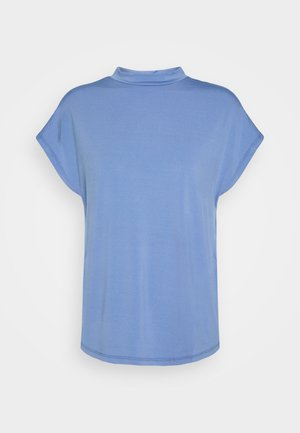 VICATHRINE FUNNEL NECK - Basic T-shirt - colony blue