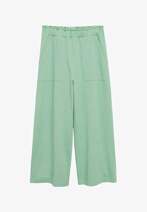 Pantalon classique - pastel green