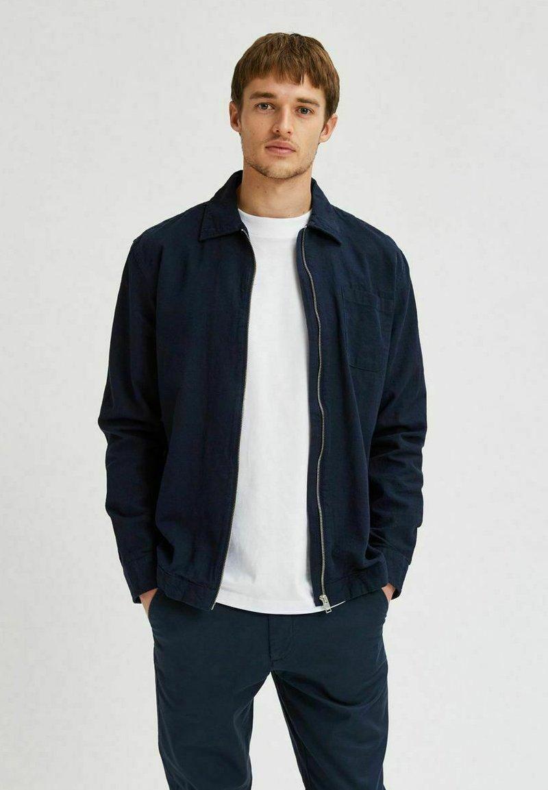 Selected Homme - Giacca leggera - navy blazer