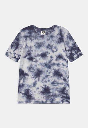 SCOUT DROP - T-shirts print - retro white/indigo