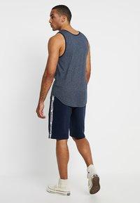 Hollister Co. - TAPED - Pantalones deportivos - navy - 2