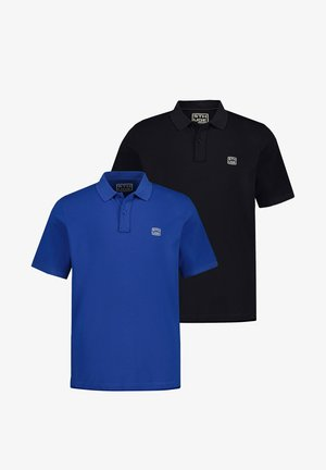 2 PACK - Poloshirt - kobaltblau