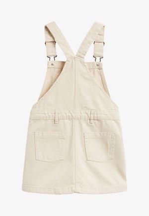 Denim dress - off-white