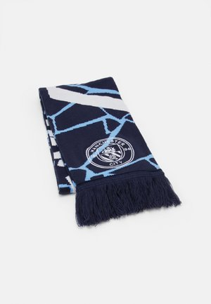 MCFC CULTURE FAN SCARF - Halsduk - peacoat/white
