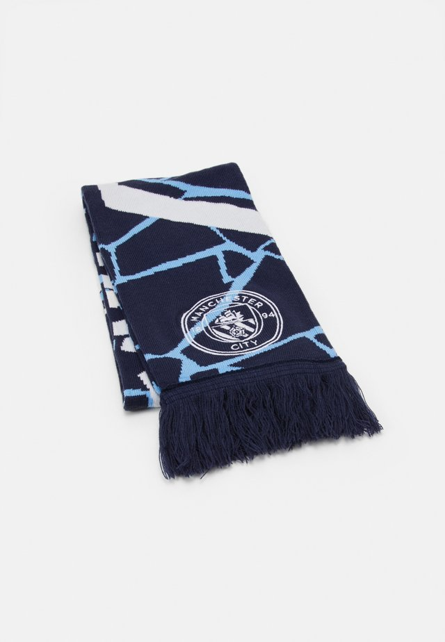 MCFC CULTURE FAN SCARF - Scarf - peacoat/white