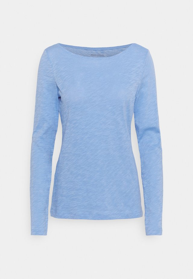LONG SLEEVE - Maglietta a manica lunga - washed cornflower