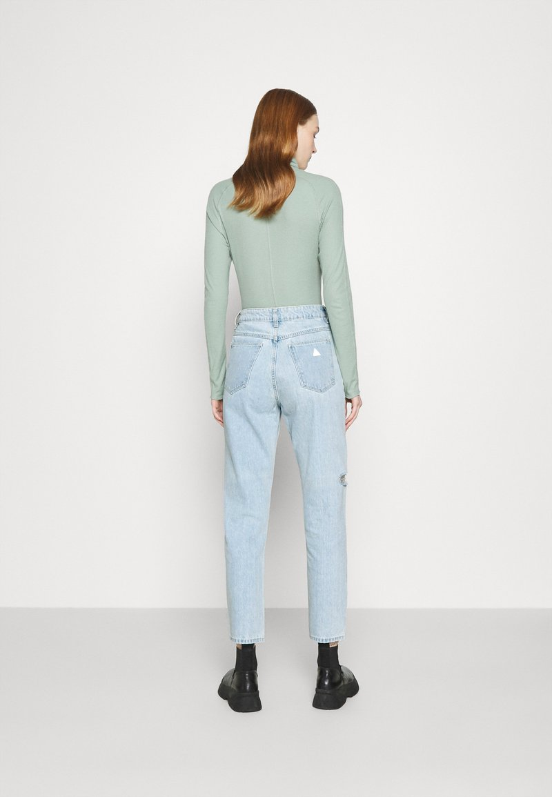 Abrand Jeans - HIGH - Slim fit jeans - daisy blue