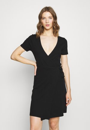 ENALLY DRESS - Shift dress - black