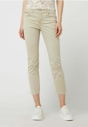 SLIM FIT IN 7/8-LÄNGE - Straight leg jeans - beige