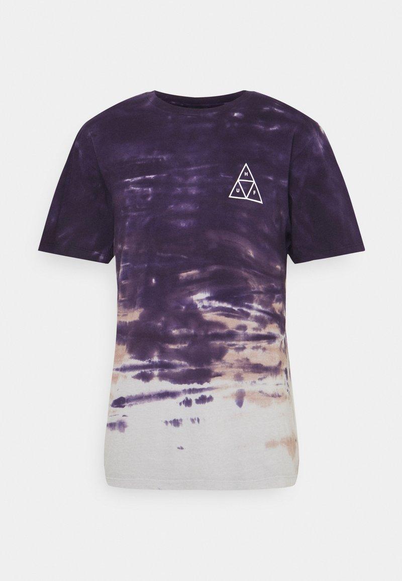 HUF - SKY WASH TEE - Print T-shirt - vintage violet
