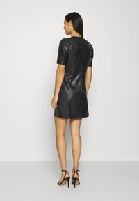 Noisy May - NMHILL SHORT DRESS - Day dress - black - 2