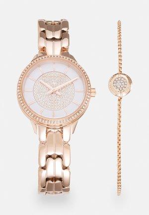 ALLIE SET - Horloge - rose gold-coloured