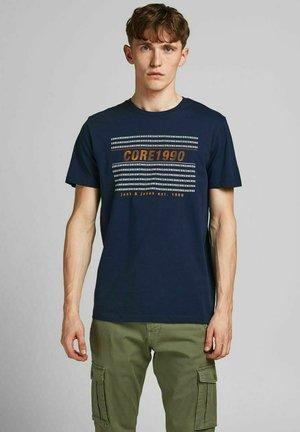 REGULAR FIT - Print T-shirt - navy blazer
