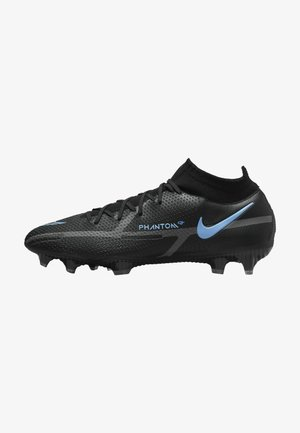Fotbollsskor fasta dobbar - black/iron grey/black
