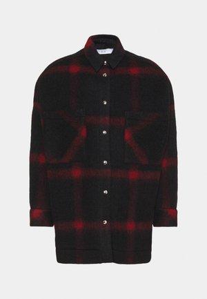 HELDENS - Short coat - black/red