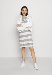 Superdry - DARCY DRESS - Jersey dress - grey - 1