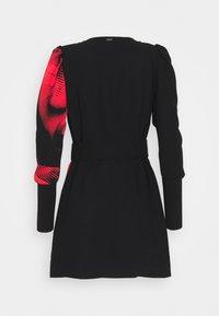 Guess - BRISILDA DRESS - Day dress - red/black - 1