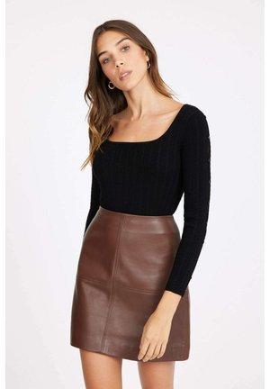 Sophia long-sleeved - Long sleeved top - black