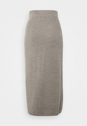 EMERSON - Pencil skirt - taubengrau