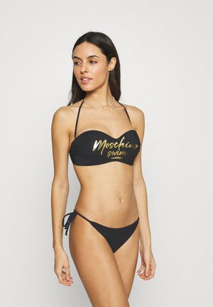 BANDEAU - Bikiniöverdel - black
