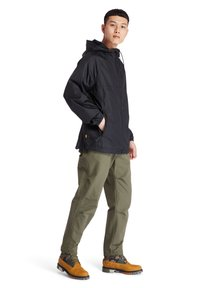 Timberland - WP HOODED SHELL - Waterproof jacket - black - 1