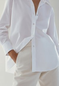 Massimo Dutti - Button-down blouse - white - 5
