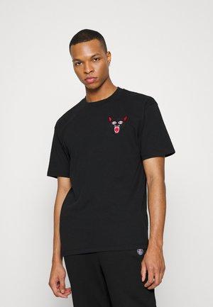TEIDE TATSU UNISEX - Print T-shirt - black