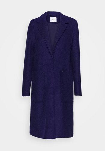 ONLSTACY LONG COAT - Klasyczny płaszcz - evening blue