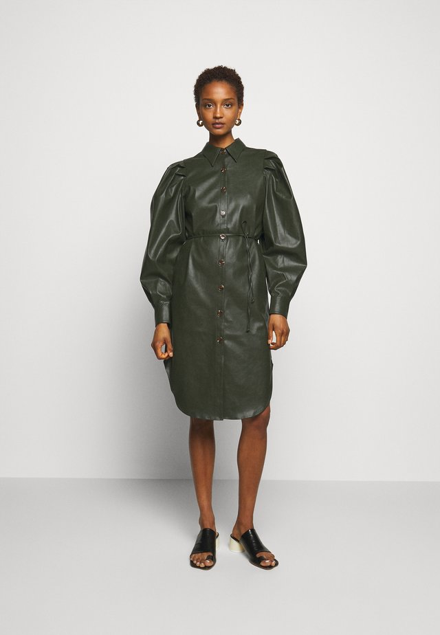 MARIE SLEEVE DRESS - Shirt dress - olive