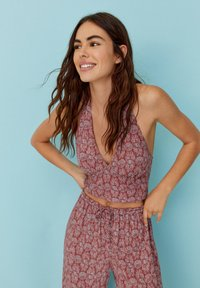 PULL&BEAR - Top - red - 4