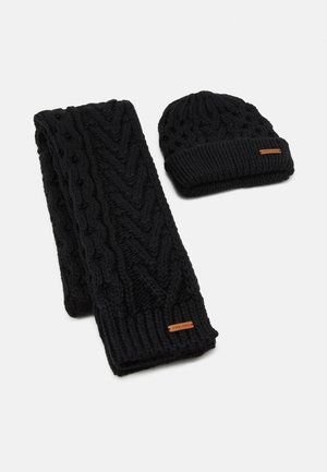 SET - Scarf - black