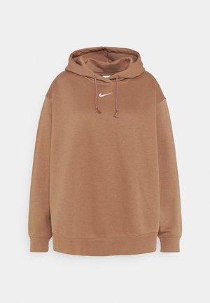PLUS - Sweatshirt - archaeo brown/white