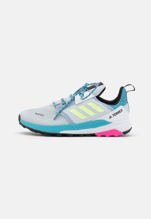 TERREX TRAILMAKER R.RDY UNISEX - Hiking shoes - halo blue/hi-res yellow/screaming pink