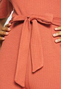 Even&Odd - BASIC - Jumpsuit with belt - Combinaison - bruschetta - 5