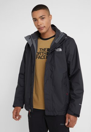CORDILLERA TRICLIMATE JACKET 2-IN-1 - Chaqueta outdoor - black/grey
