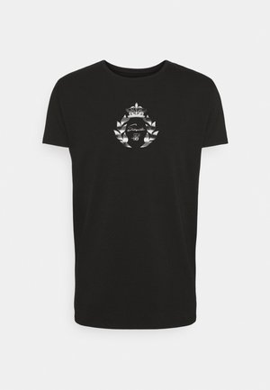 PRESTIGE TRANSFER TEE - T-shirt print - black