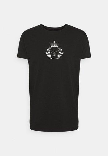 PRESTIGE TRANSFER TEE - Print T-shirt - black